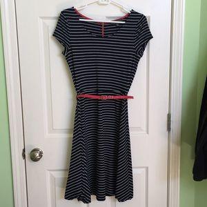 Stripped Navy dress